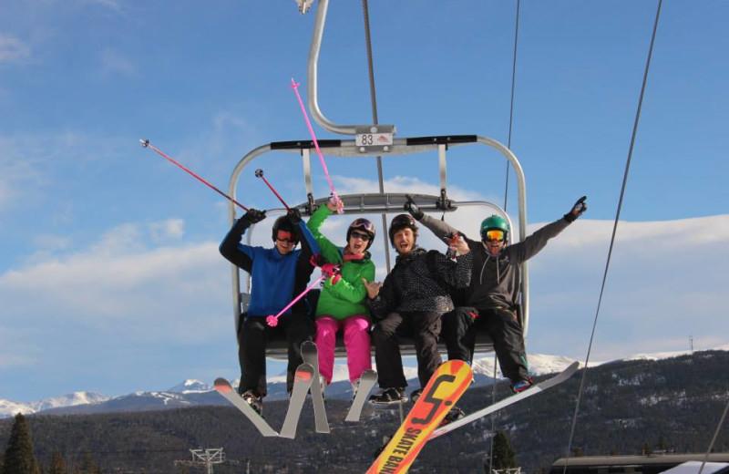 Skiing at Grand Lodge on Peak 7