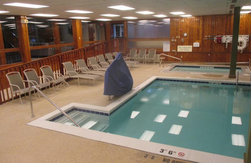 Indoor pool at Best Western - Benton Harbor.
