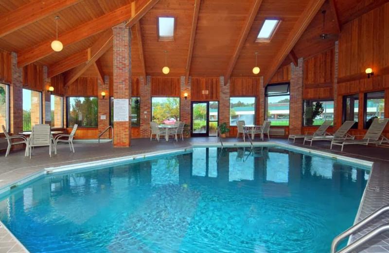 Indoor pool at Baymont Inn Port Huron MI.