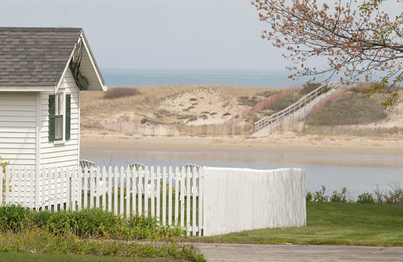 Cottage with view at The Dunes on the Waterfront.
