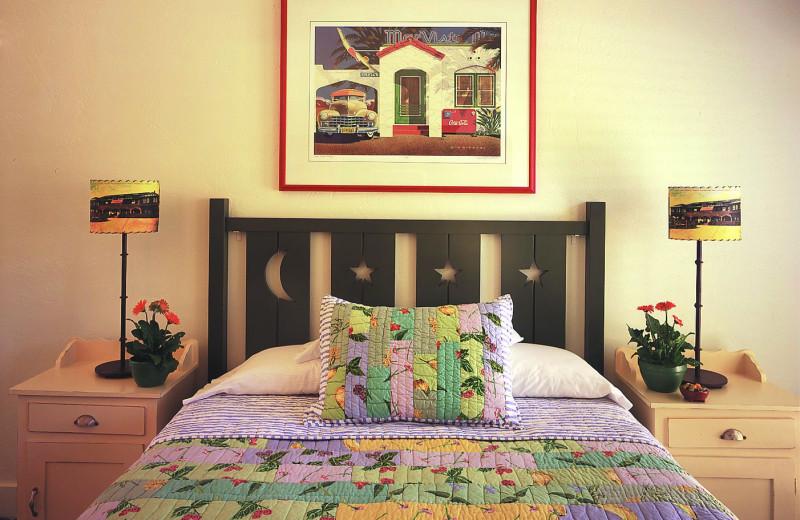 Guest room at Sonoma Creek Inn.