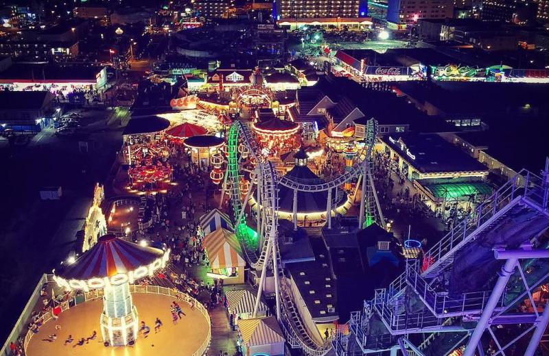 Amusement park near Jersey Cape Realty.