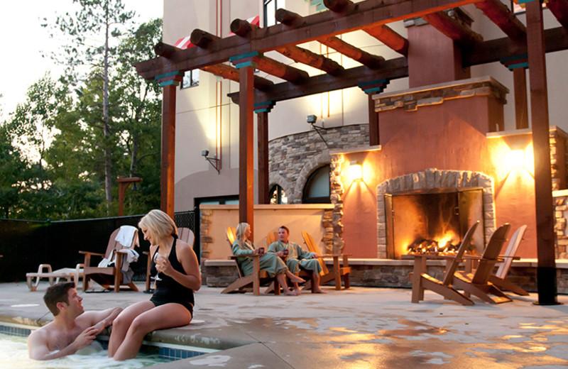 Hot tub at Chula Vista Resort.