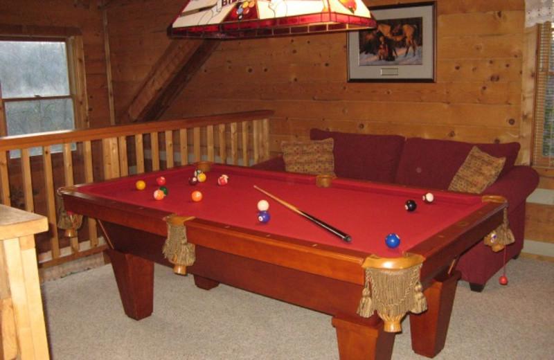 cozy pool table