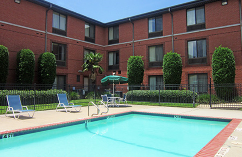 Outdoor Pool at the Extended Stay Deluxe Houston - Northwest