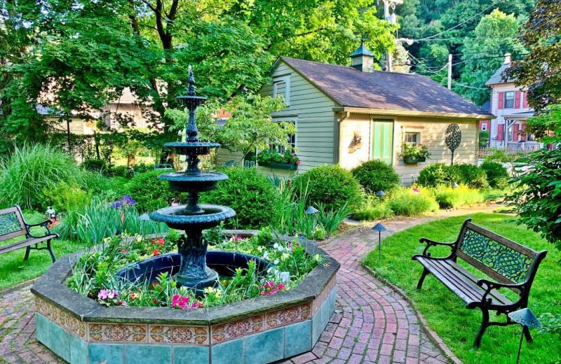 Garden at Chestnut Hill on the Delaware.