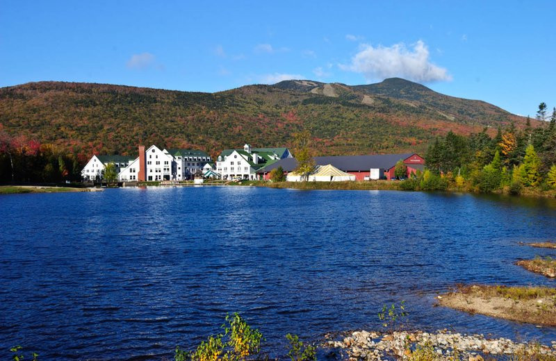 Corcoran Pond in Waterville Valley.