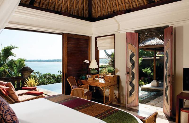 Guest room at Four Seasons Resort - Bali at Jimbaran Bay.