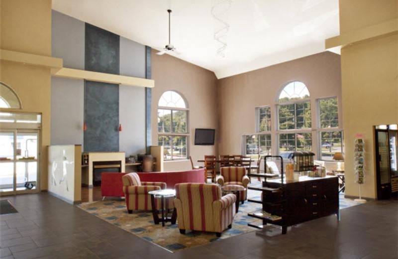 Lobby at Best Western Plus Cooperstown Inn & Suites