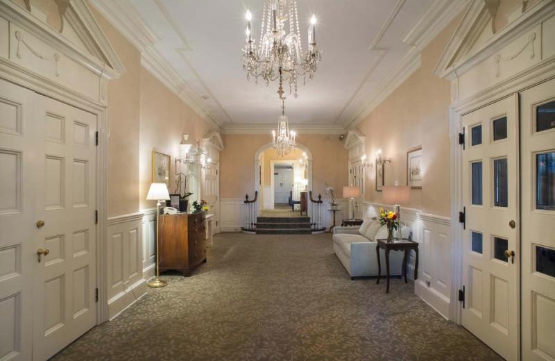 Lobby at The Homestead.