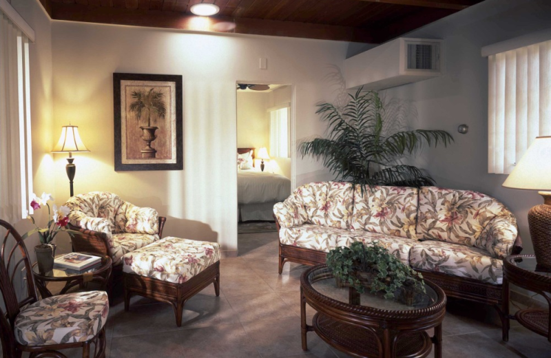 Guest room at Calla Lily Inn.