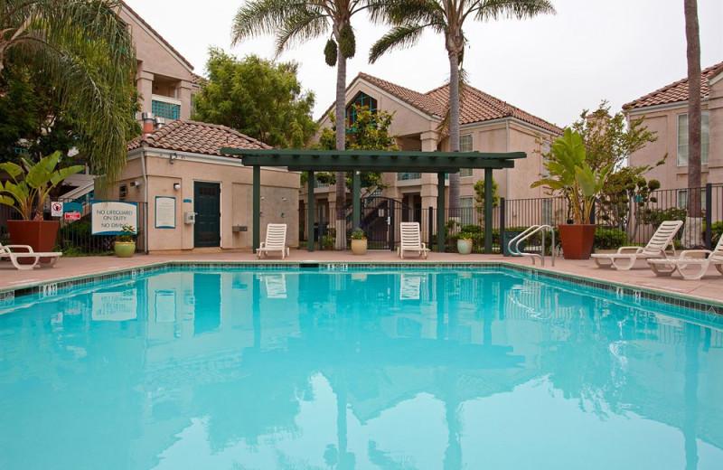 Outdoor pool at Staybridge Suites Torrance/Redondo Beach.