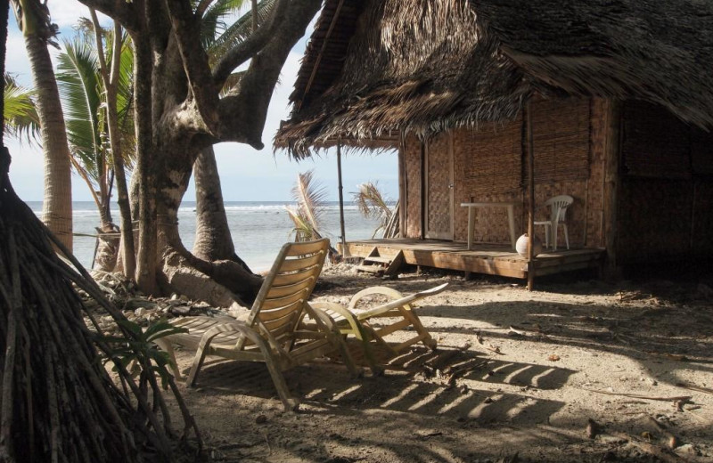 Cottage exterior at Kosrae Village Resort.