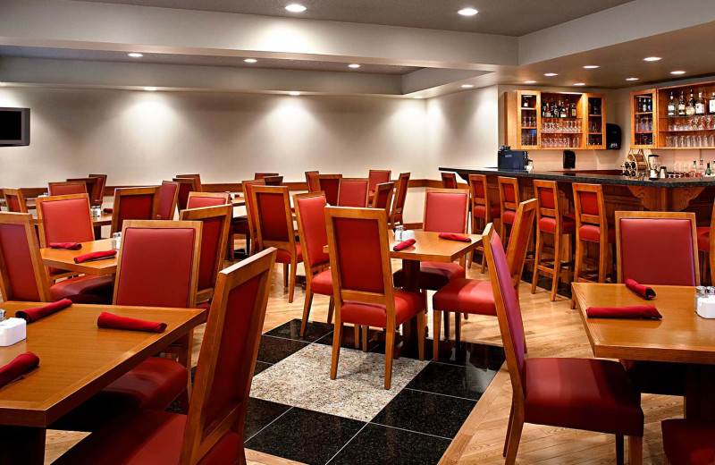 Dining at Four Points by Sheraton Prince George.