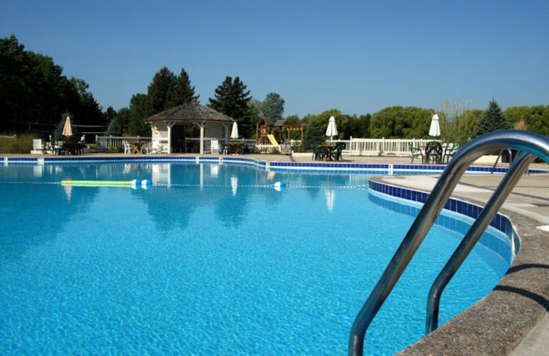 Outdoor pool at the Olympia Resort: Hotel, Spa and Conference Center.