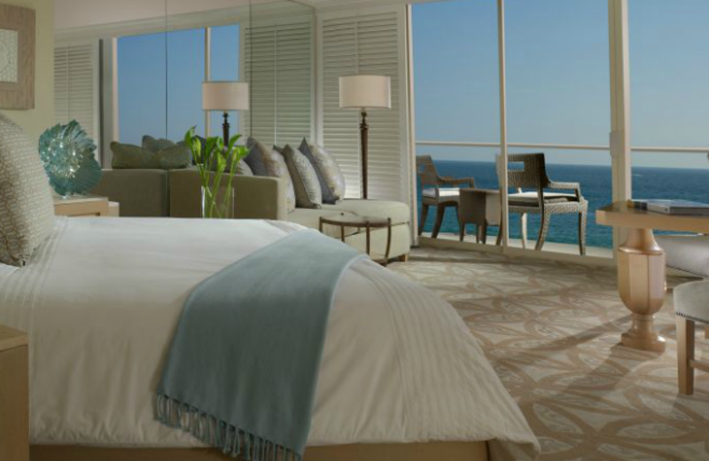 Guest room at Surf & Sand.