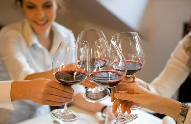 Wine tasting at Stonehedge Inn and Spa.
