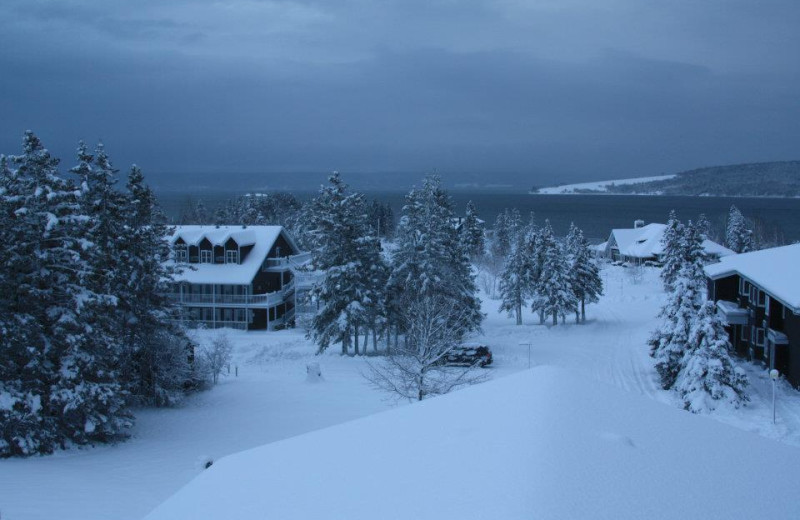 Winter time at Inverary Resort.