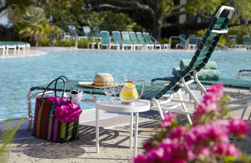 Outdoor pool at Marriott's Grand Hotel Resort and Golf Club.