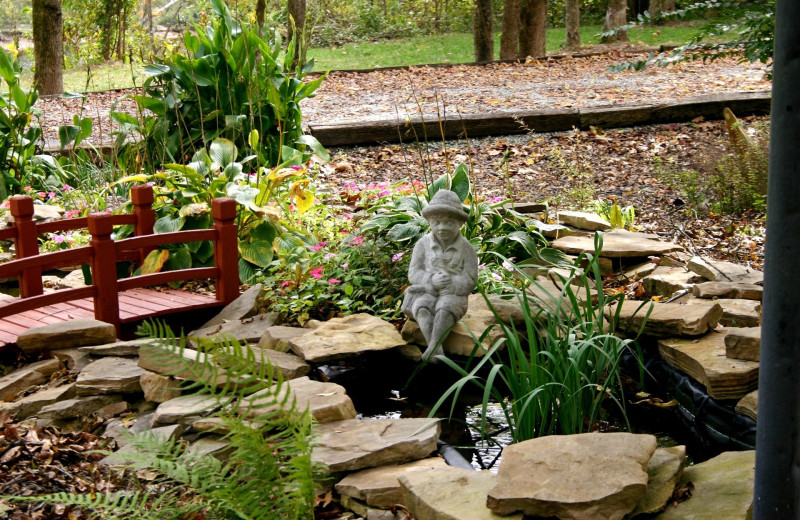 Garden at River Ridge Inn.