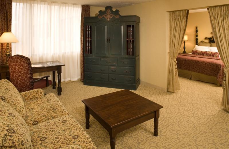 Guest suite at Hotel Encanto.