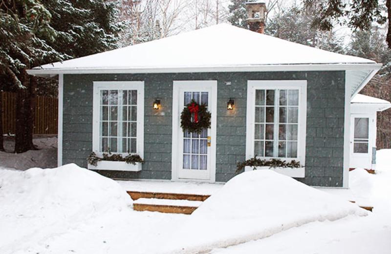 Cottage exterior at GO-Cottage.