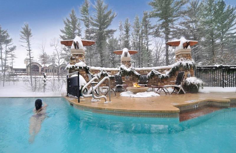 Heated Pool at Sundara Inn & Spa
