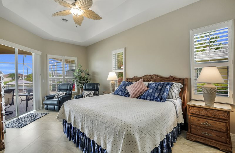 Rental bedroom at MHB Property Management.