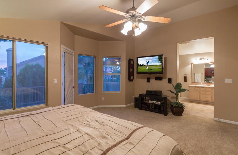 Rental bedroom at Padzu Vacation Homes - Scottdale.