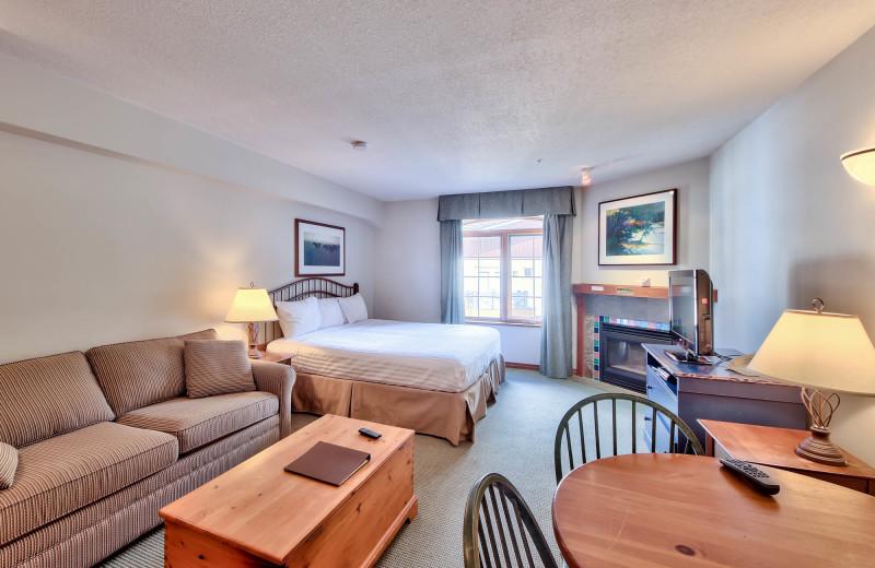 Rental living room at Bear Country Property Management (2018) Ltd.
