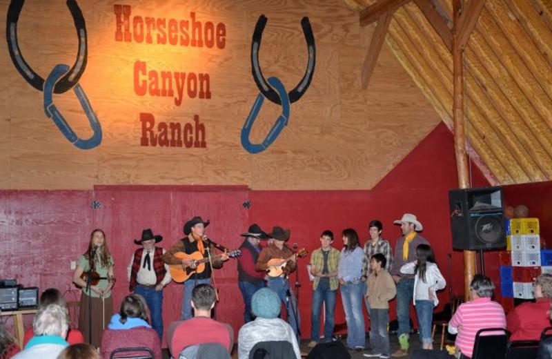 Entertainment at Horseshoe Canyon Ranch