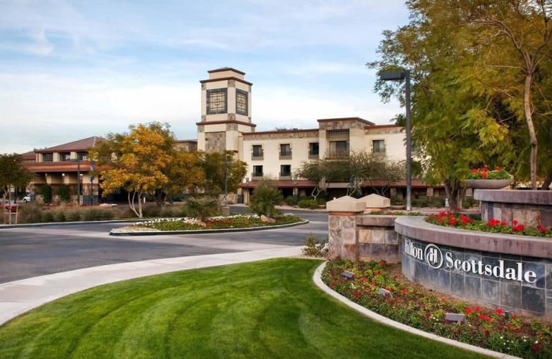 Exterior view of Hilton Scottsdale Resort & Villas.