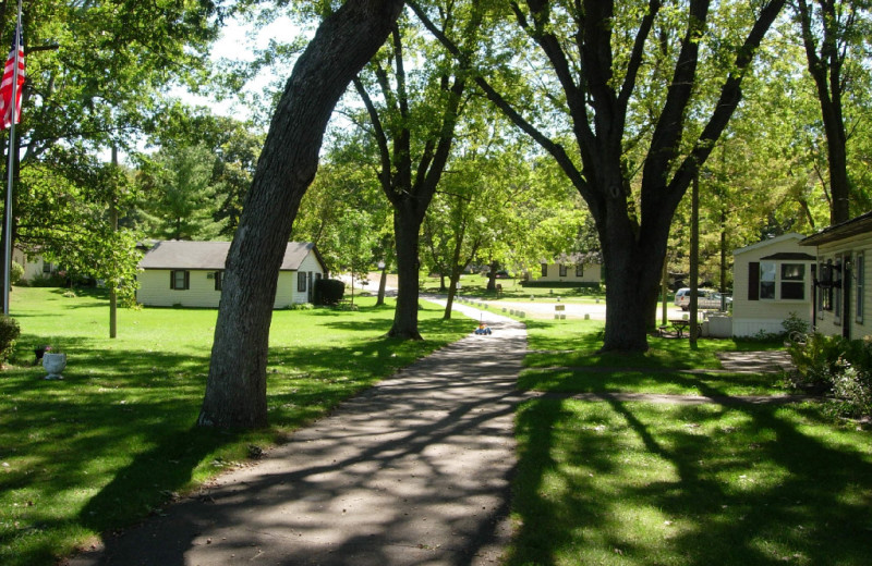 The Grounds at Woodland Beach Resort
