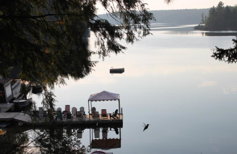 The Lake at Pine Grove Resort Cottages