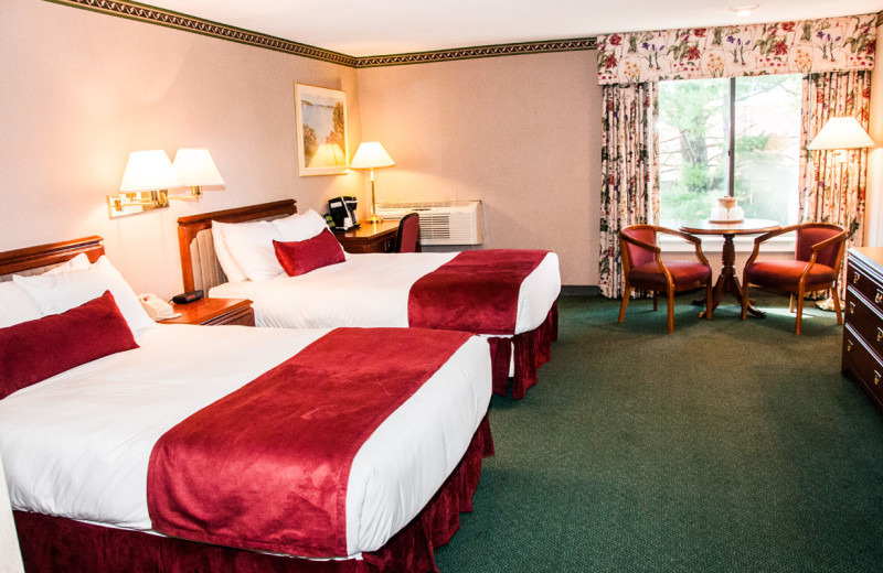Guest room at The Margate on Winnipesaukee.