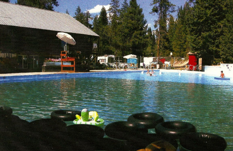 Outdoor Pool at Silver Creek Plunge