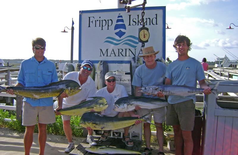 Fishing at Fripp Island Golf & Beach Resort.