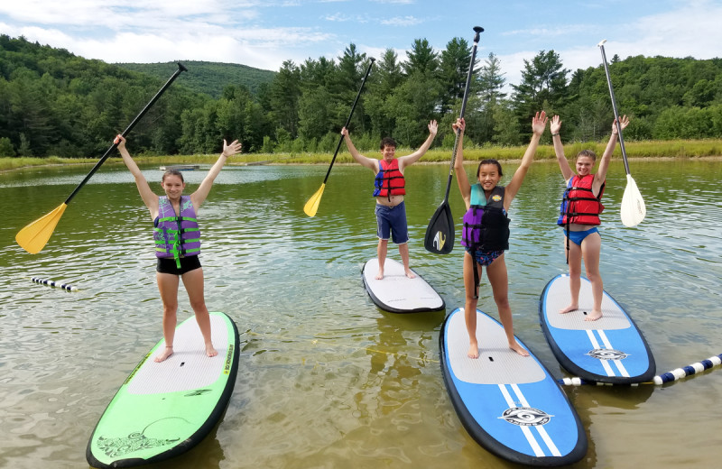 Paddle board at Common Ground Center.