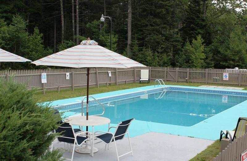 Outdoor pool at Best Western Acadia Park Inn.