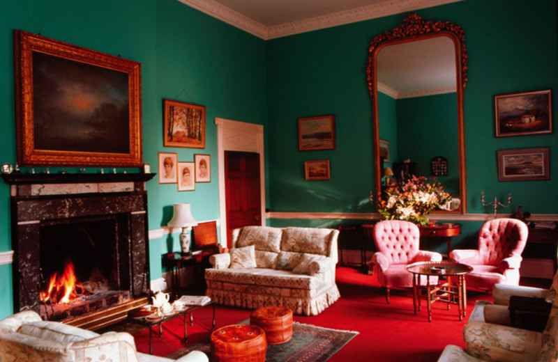 Lounge at Coopershill.