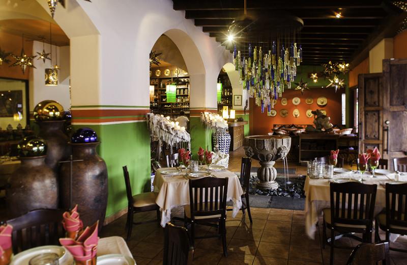 Dining at Marina Fiesta Resort and Spa.