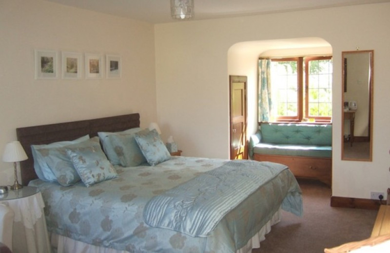 Guest room at Little Carron Cottage.