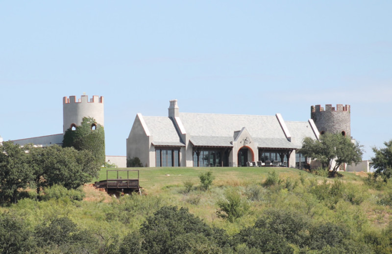 Exterior view of Greystone Castle Sporting Club.
