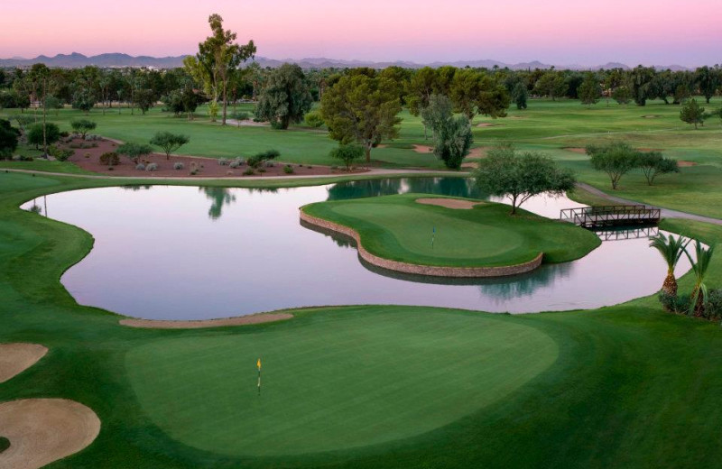 Golf course at The Wigwam Resort.