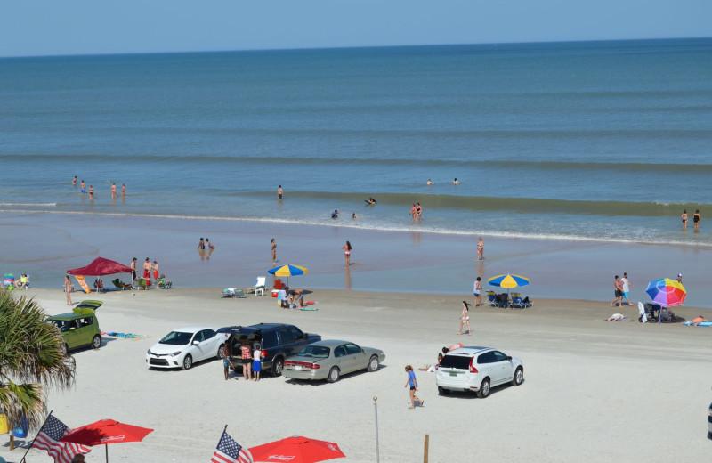 Beach at Fountain Beach Resort.