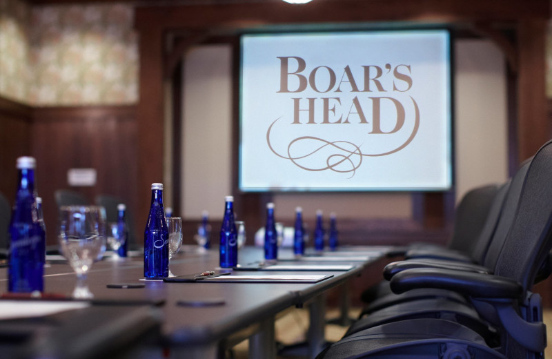 Meetings at Boar's Head Resort.