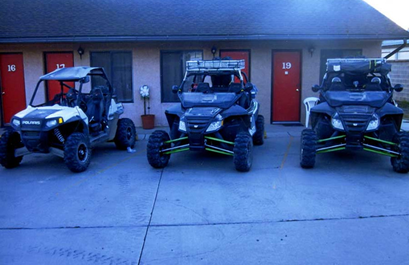 Utah ATV at Color Country Motel.
