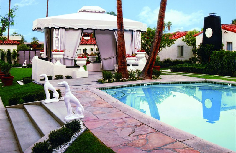 Outdoor pool at Viceroy Palm Springs.