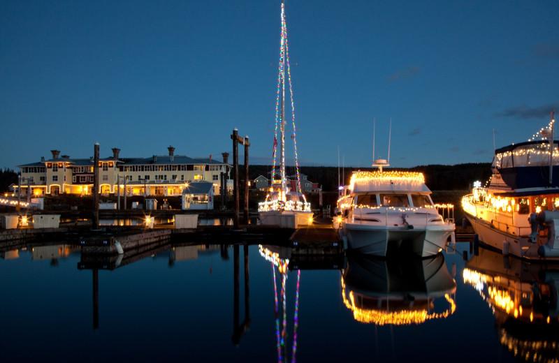 Marina at The Resort At Port Ludlow.