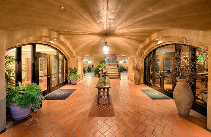 Lobby at Hotel Los Gatos